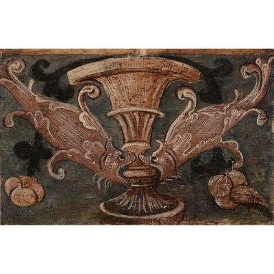 Panneau En Bois Peint Renaissance Italienne