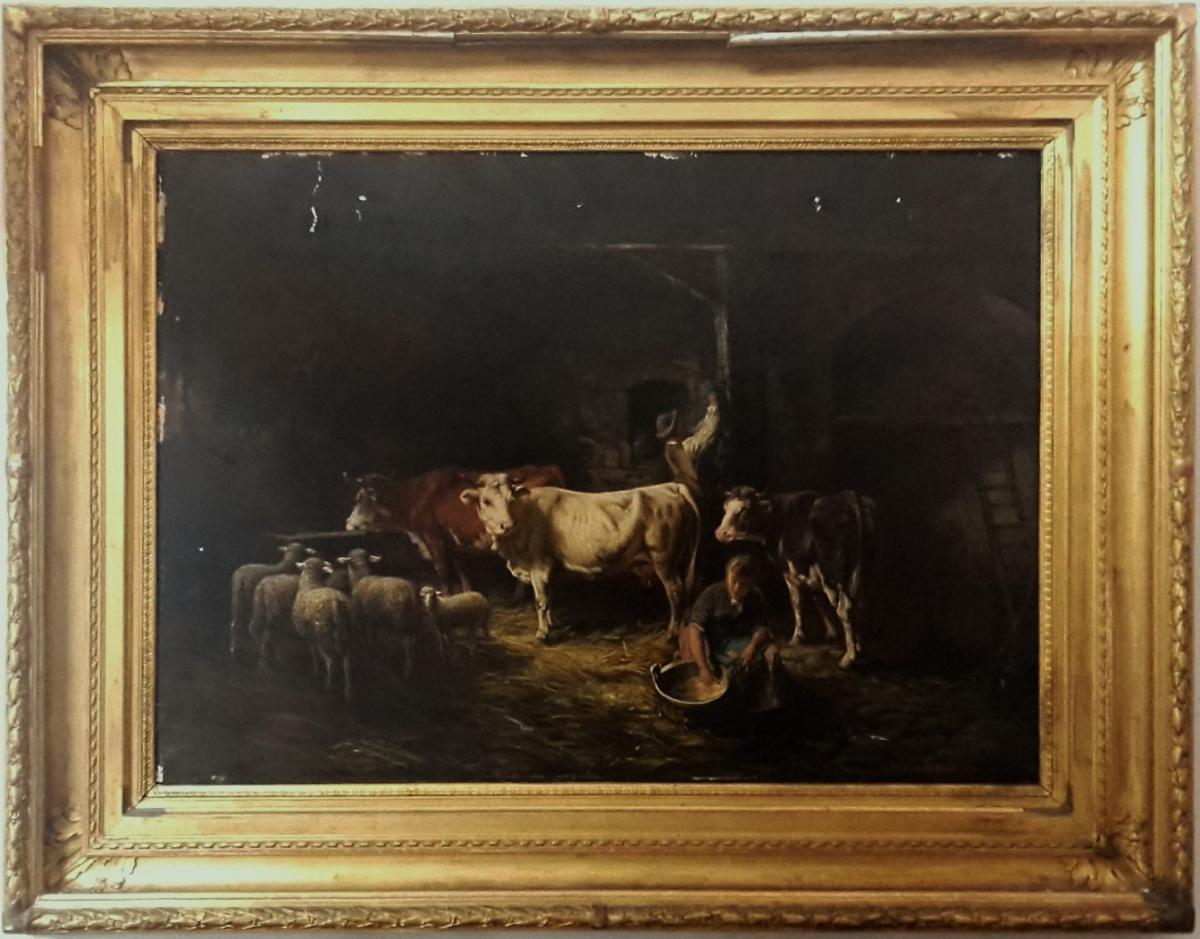 Peinture Française Signée