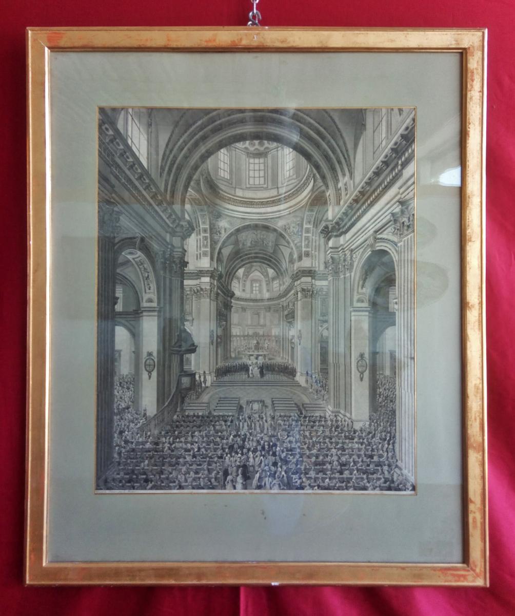 St. Ursen Cathedral Interior Print
