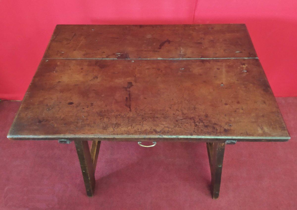 Petite Table à écrire De La Fin Du 17ème Siècle-photo-2