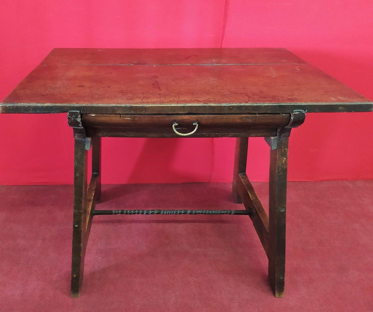 Petite Table à écrire De La Fin Du 17ème Siècle-photo-6