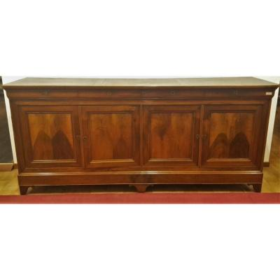 Four Doors Sideboard, Walnut