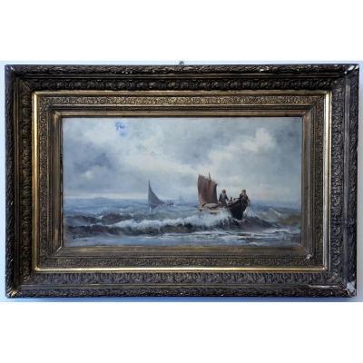 Peinture Du Paysage De La Mer