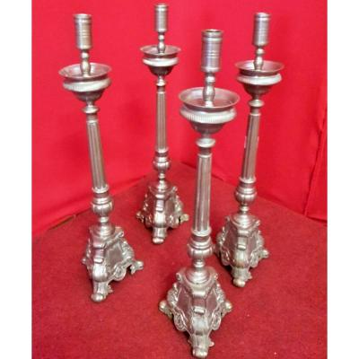 Group Of Four Candlesticks