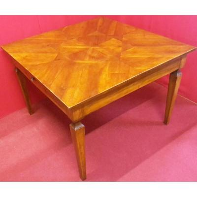 Square Table With Pyramid Legs