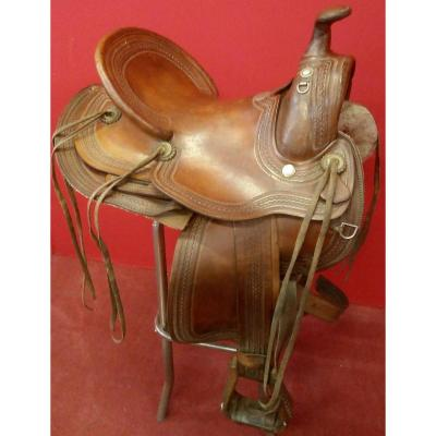 Blue River American Saddle