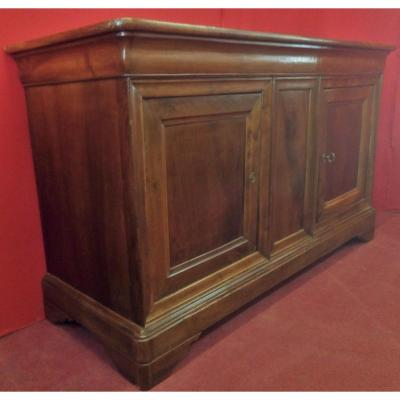 Buffet Long Deux Portes En Noyer