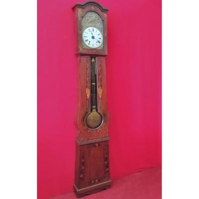 Red Lacquered Pendulum Clock