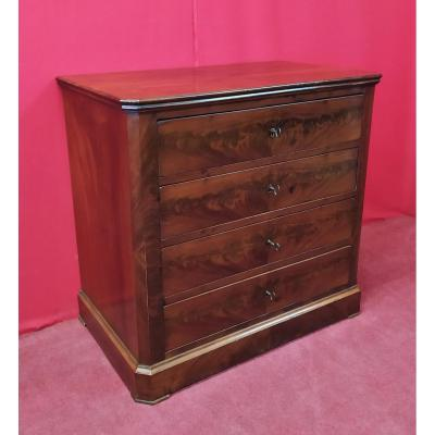 Mahogany Small Cabinet With Drawers