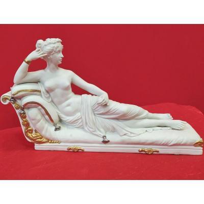 Statuette De Capodimonte Paolina Borghese