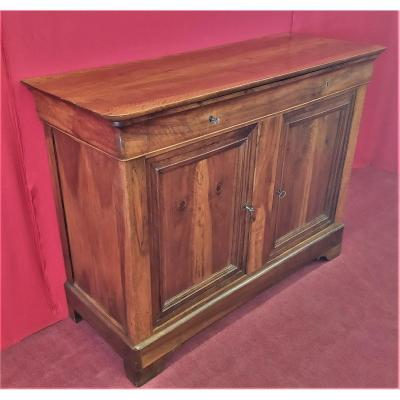 Two-door Sideboard With Cup Holder Shelf
