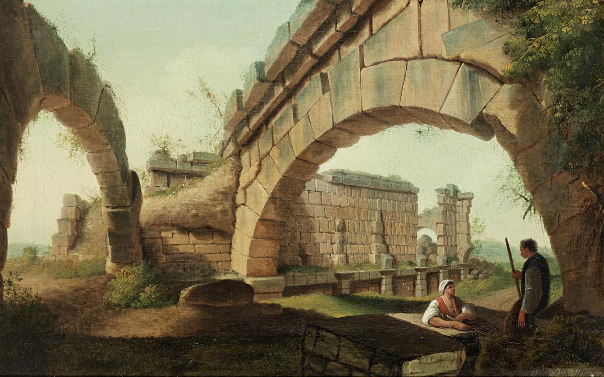 Capriccio Architectural Luigi Mayer