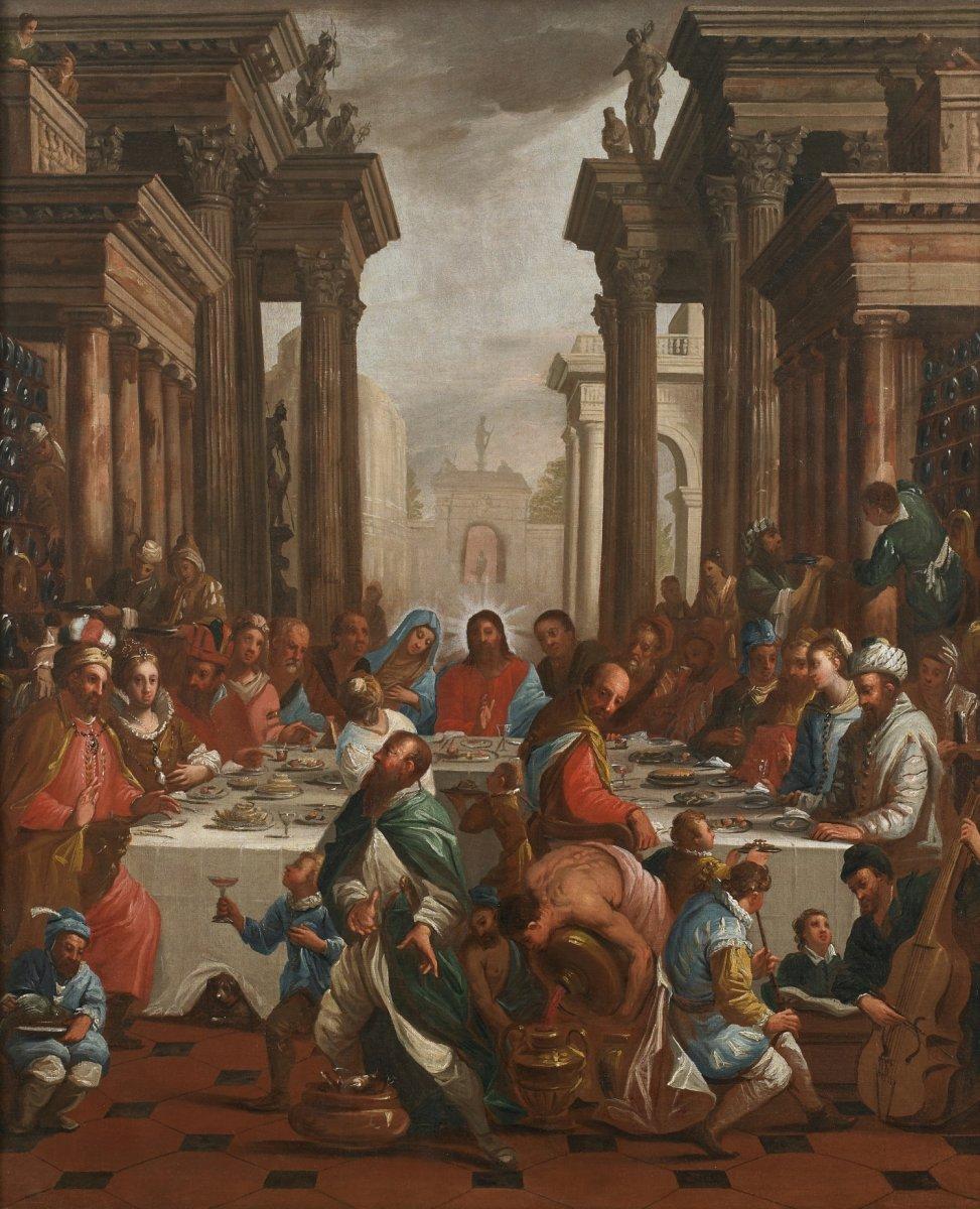 Mariage De Cana Antonio Cifrondi