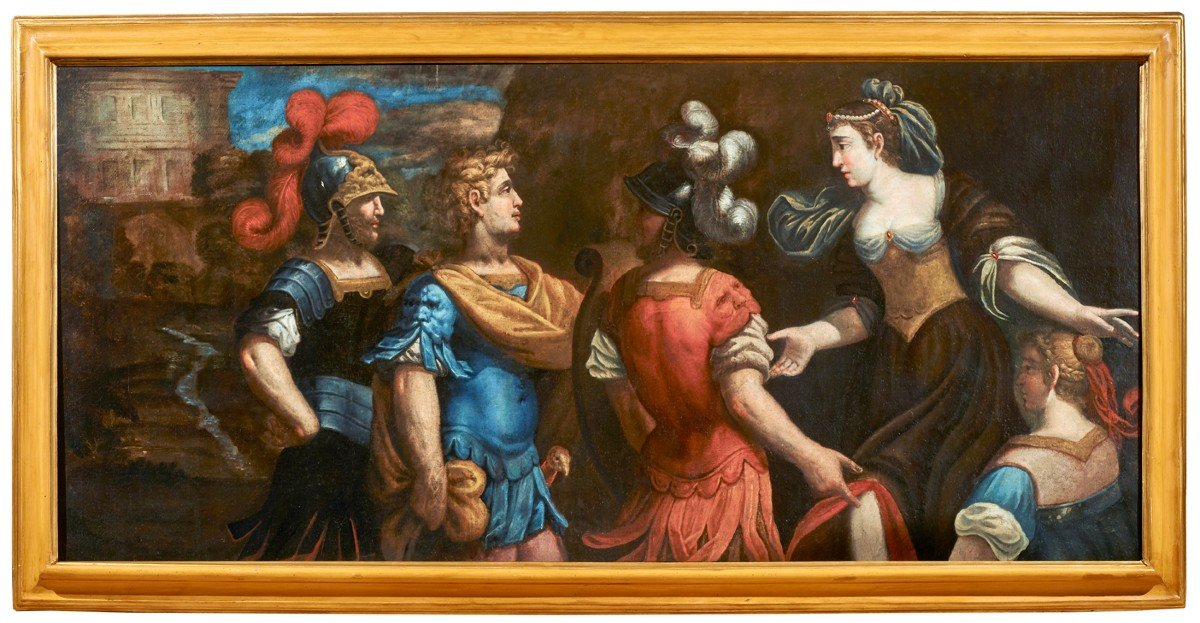 Semiramide Et Babylone Giovanni Romanelli '600