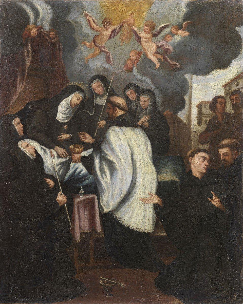 Martyre De l'école Lombarde Santa Chiara '600