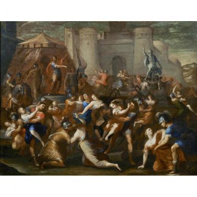 Le Viol Des Sabines Francesco Allegrini