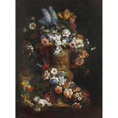 Vase De Fleurs Gaspar Peeter Verbruggen Le Jeune