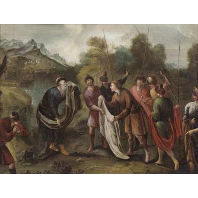 Les Freres Montrant La Robe Sanglante De Joseph
