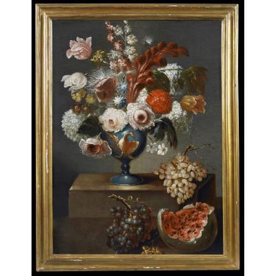 Vase De Fleurs Elias Terwesten '600