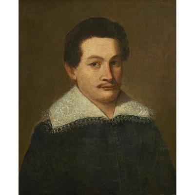 Portrait Of Noble Man Nicola Maria Rossi '700