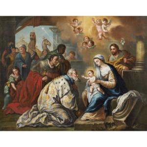 Adoration Des Mages Giandomenico Cignaroli