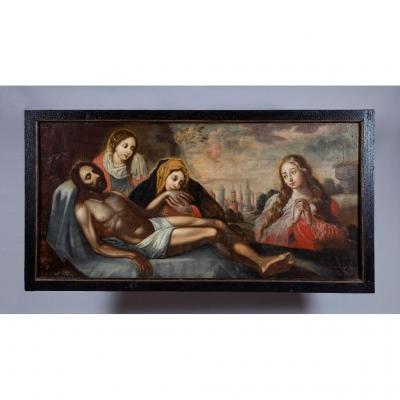 Représentation De La Déposition Du Christ, 500 Ans