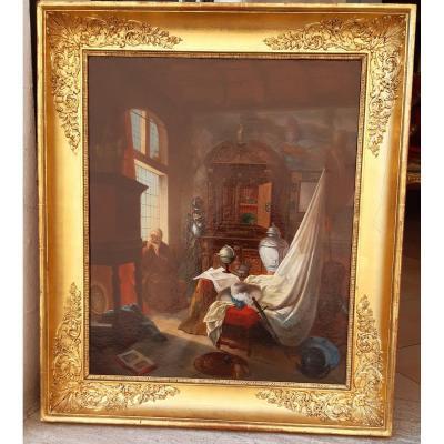 Tableau:la Salle Du Collectionneur
