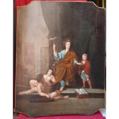 Allegorie De l'Eloquence d'Epoque Louis XVI