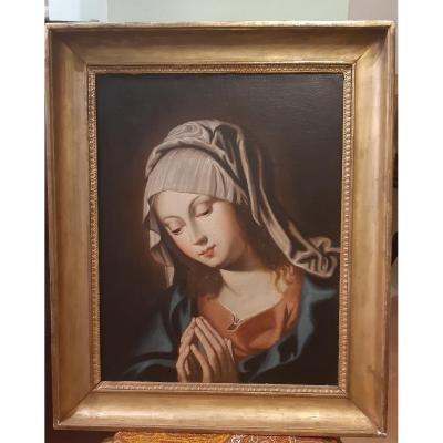 Vierge En Priere ,XVIIIsiecle