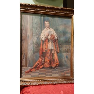 Le cardinal,signe' Ascenzi1881