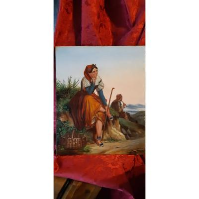 Peintre Francais Du XIX Siecle