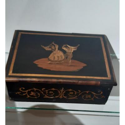 19th Century Marquetry Box