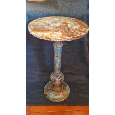 Table Basse En Onyx