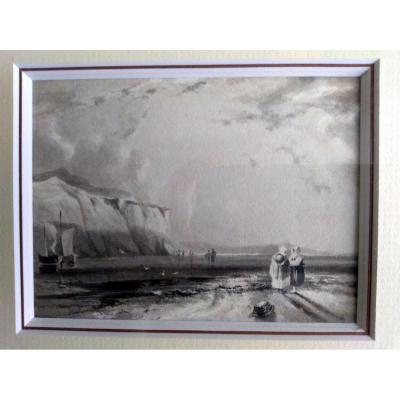 DESSIN RICHARD PARKES BONNINGTON (1802-1828)