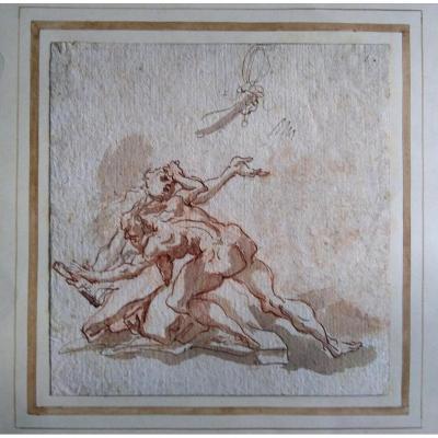 Dessin Ancien Italien Vers 1700