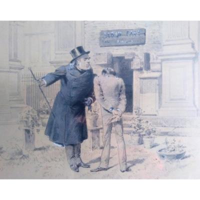 Émile Bayard (1837-1891) Dessin