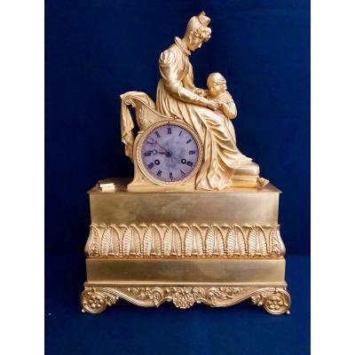 Bronze Gilded Clock