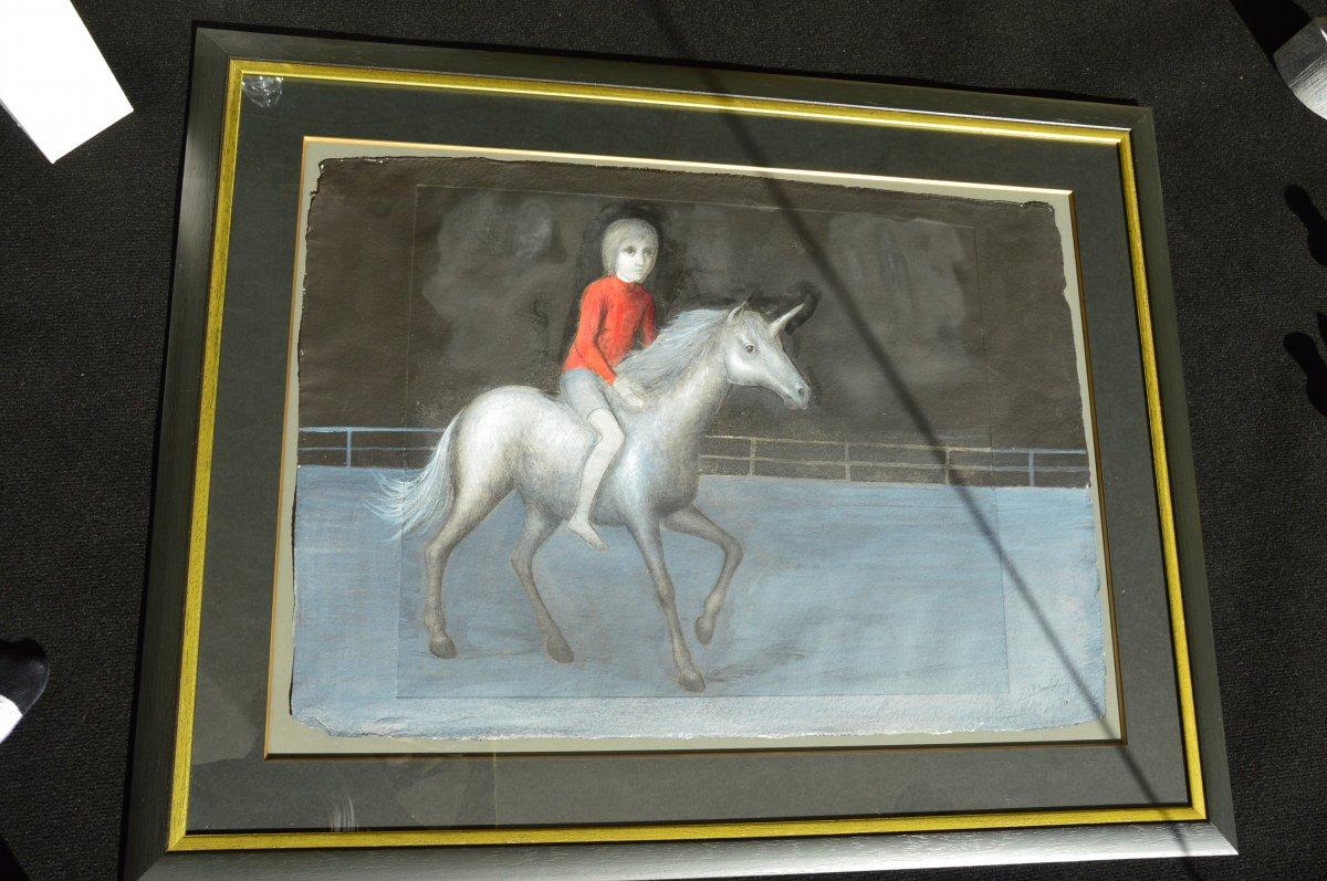 l'Enfant Et La Licorne De Roland Devolder