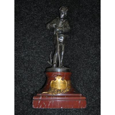 Bronze prix d'agriculture par Longepied Et Christofle