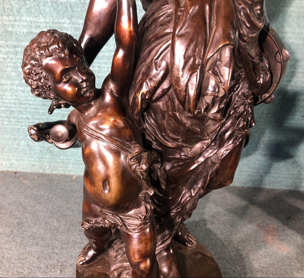 L éte Et  L Automne Bronze Sig Stella-photo-3
