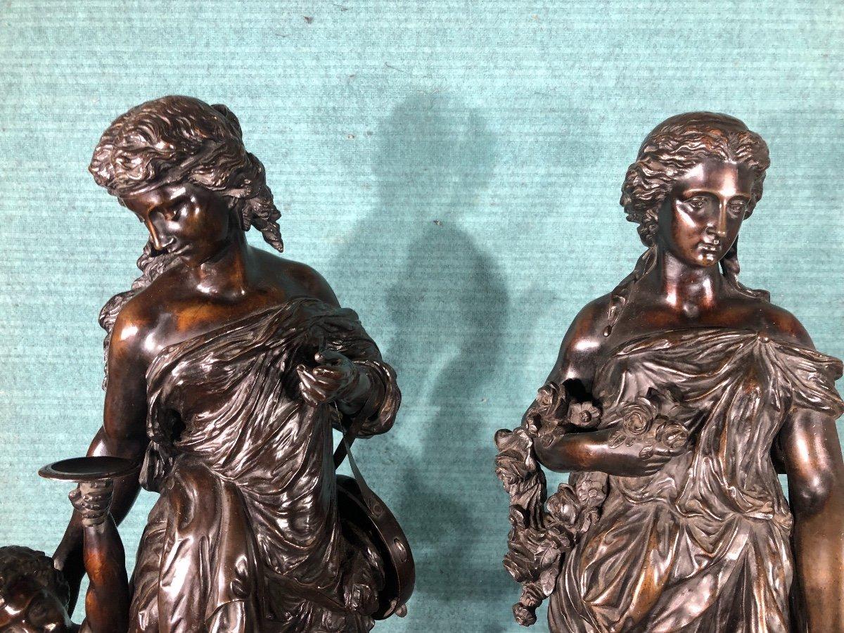 L éte Et  L Automne Bronze Sig Stella-photo-4