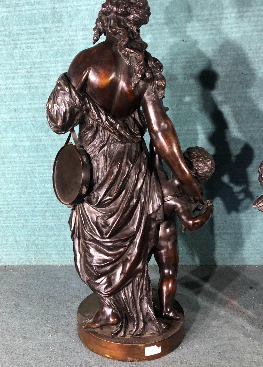 L éte Et  L Automne Bronze Sig Stella-photo-1