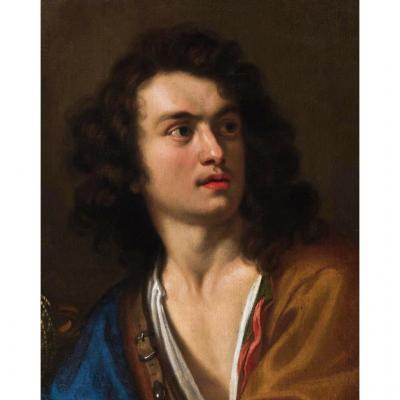 "Vincenzo Dandini( 1607 / 1675 ) "" David Et Goliath "" Expertise"