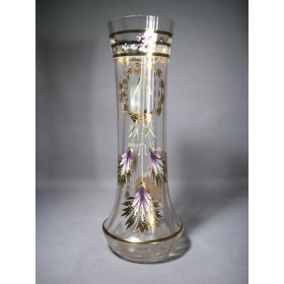 Vase En Verre émaillé De 1900