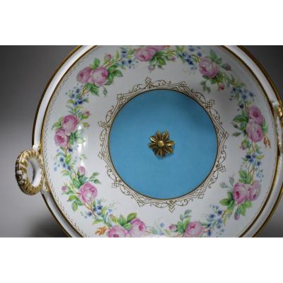 Coupe Sur Piédouche Porcelaine De Sèvres.1848