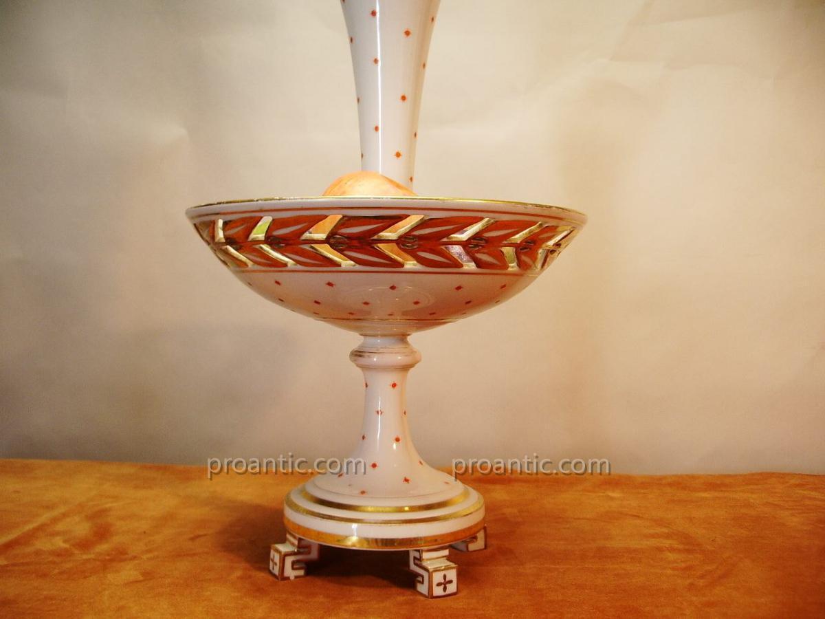 Coupe à Fruit, Porcelaine,19ème.-photo-3