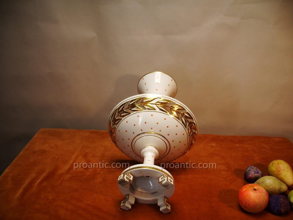 Coupe à Fruit, Porcelaine,19ème.-photo-4