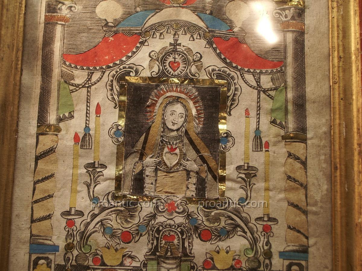 Image Sainte, Coeur Marie, Ottinger, Munich 18ème.