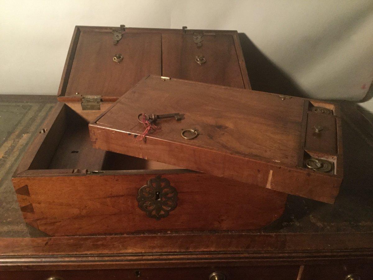 Travel Box, Marine, 18th Century.