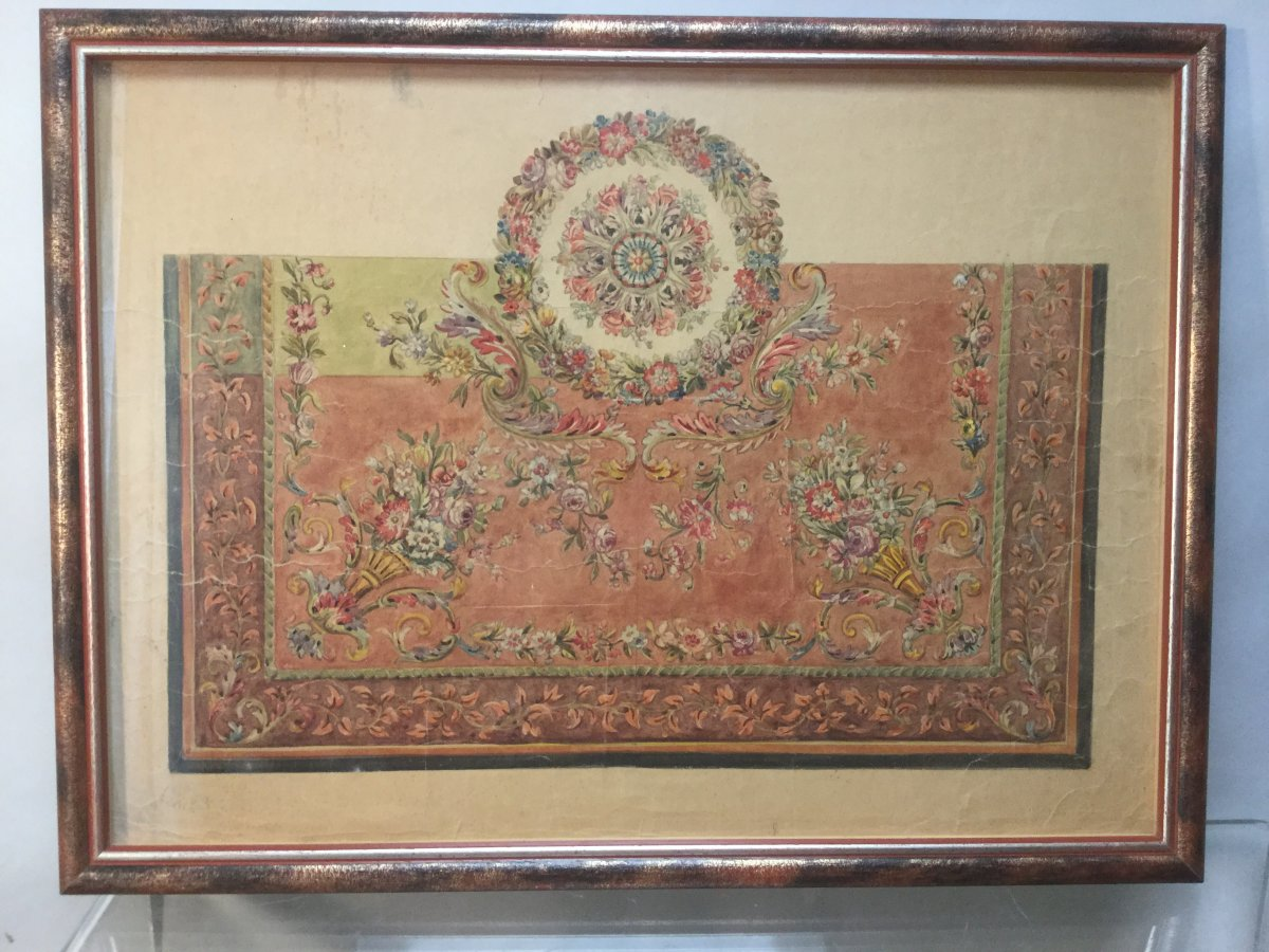 Aubusson Tapestry Project, 19th Century.